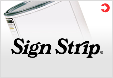 Sign Strip