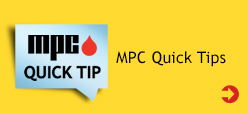 MPC Quick Tips